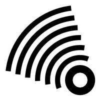 Frequency vector icon